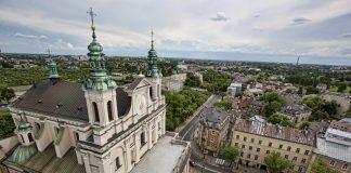 Widok z Wieży Trynitarskiej / fot UM Lublin