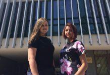 Na zdjęciu Anna Yarashuk (Białoruś) i Maria Garg (Ukraina)
