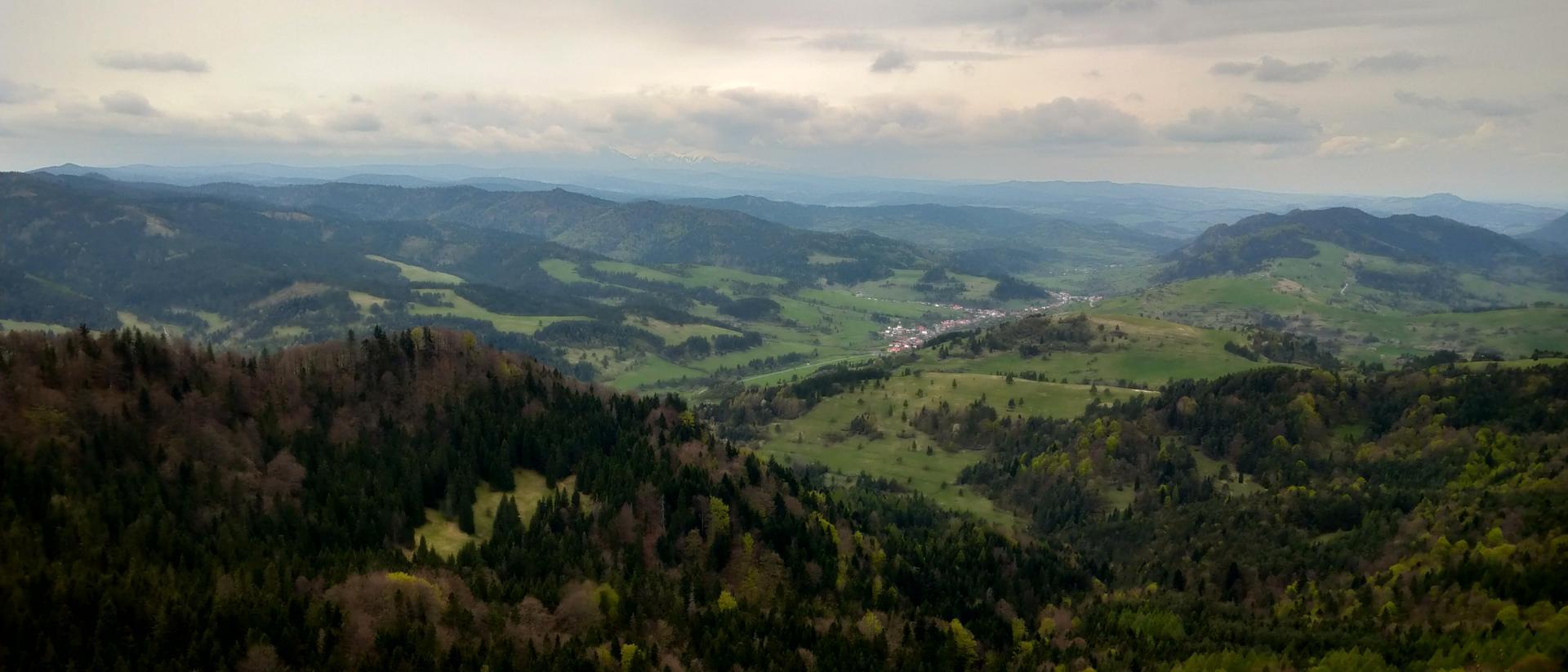 Majówkowa panorama wykonana Xperią 10